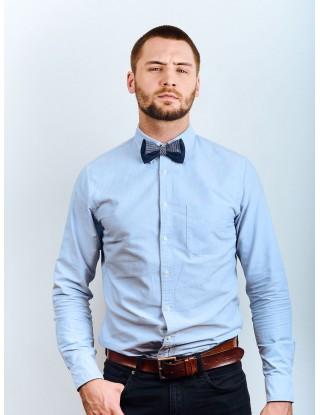 noeud-papillon-homme-lin-coton-couleur-bleu-rayures-fait-main-france