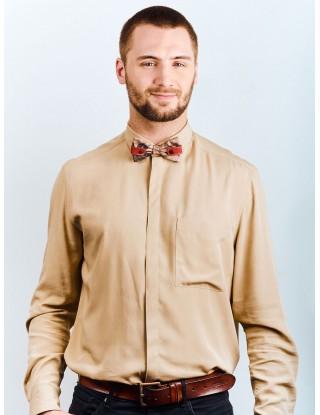 noeud-papillon-homme-prenoue-couleurs-beige-rouge-motifs-fleuris-palmier