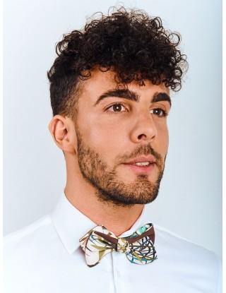 noeud-papillon-prenoue-colore-marron-vert-bleu-blanc-homme-coton-motif-fleuri
