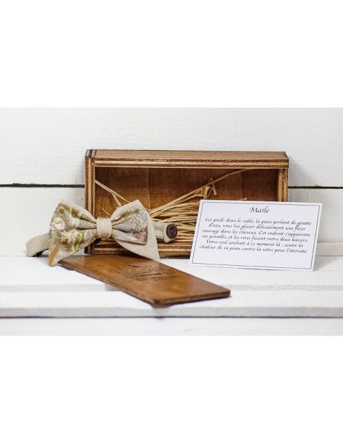 noeud-papillon-asymétrique-beige-homme-femme-reglable-collection-elvis-presley