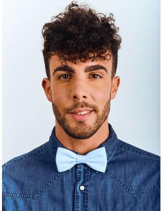 noeud-papillon-homme-femme-bleu-ciel-droit-deja-fait-chemise-jean