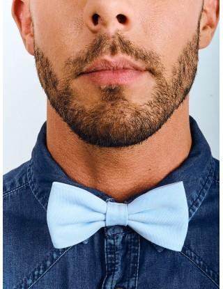 noeud-papillon-bleu-ciel-unisexe-droit-reglable-matieres-naturelles-coton-bio-mariage-cereomies-temoin