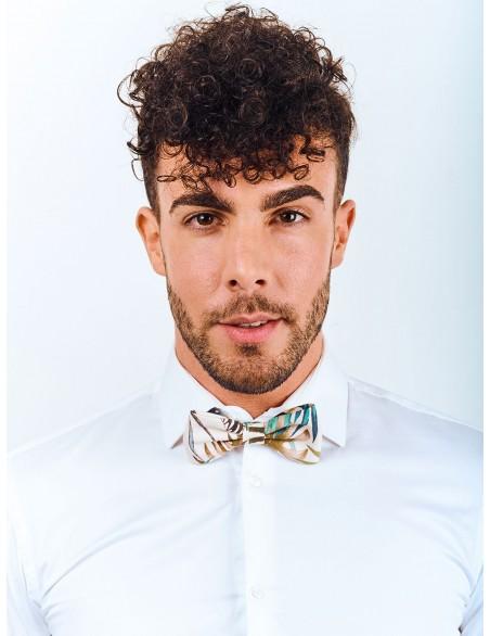 noeud-papillon-blanc-vert-bleu-marron-coton-fixe